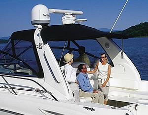 Спутниковое оборудование - антенны на яхтах и катерах