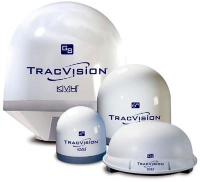Спутниковые антенны KVH для яхт - телевизионные яхтенные антенны