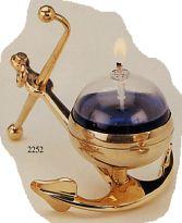 Маслянная лампа (на якоре) латунь