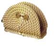 салфетница с зажимом бежевая (70.056)