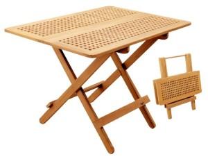 Складной тиковый стол 80x70x69
