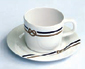 YACHTING TAZZA E PIATTO LATTE 6 UN (13005)