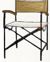 складной стул director (нерж)