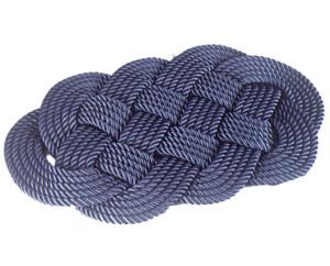 Коврик придверный синий