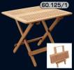 Складной тиковый стол 100x70x69 (60.125/1)
