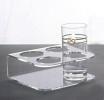 Подставка под 4 стакана пластиковая (70.404)