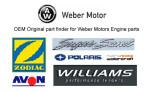 Двигатели Weber MPE 750 с водометом